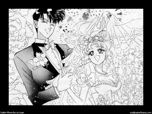 Mamoru & Usagi