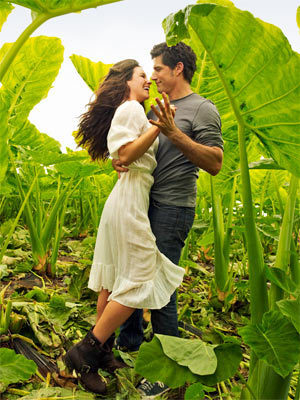 Matthew volpe and Evangeline Lilly