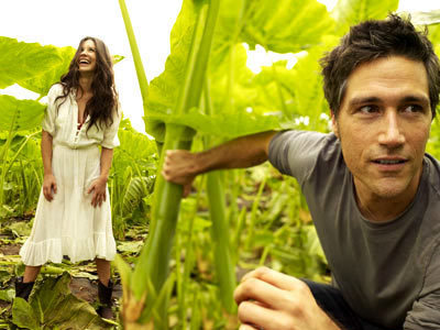 Matthew 狐狸 and Evangeline Lilly