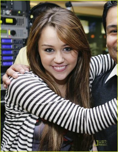 Miley @ Radio Disney