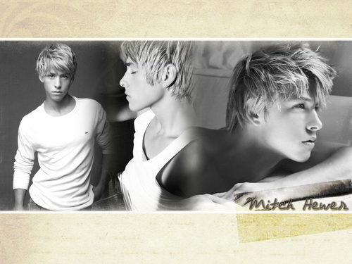Mitch Hewer 壁纸 1024*768