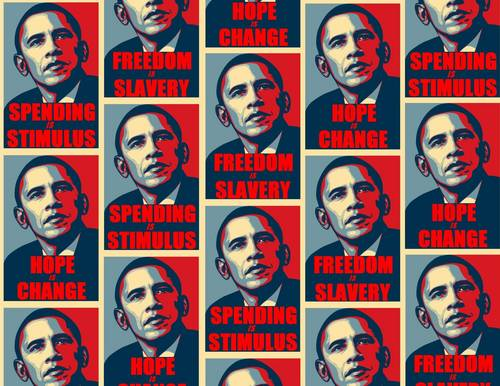 Obama tiled small