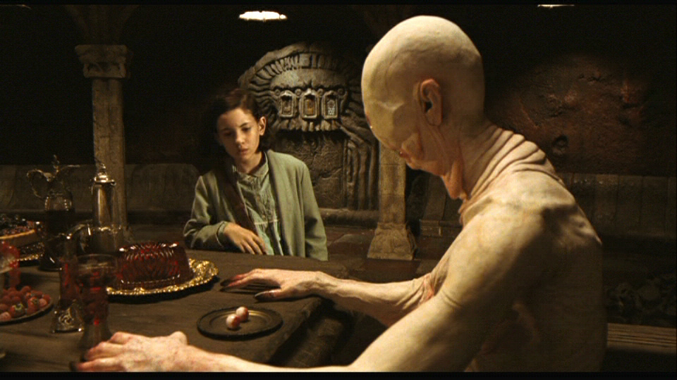 pans labyrinth A faun charges a girl with three dangerous tasks which she must complete to achieve immortality.