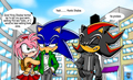 Poor Sonic! - sonamy photo