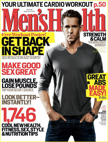 Ryan- Mens Health Magazine March 2009