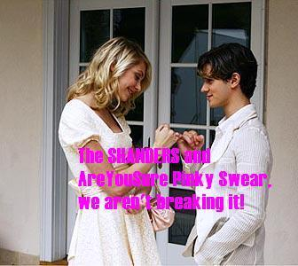 Gossip Girl Spoiler Whores 壁纸 called SHANDERS! & AreYouSure's pinky swear (Jenny and Eric Style)