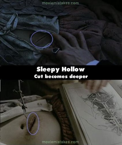 Sleepy hollow mistake