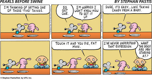 Stewie in Pearls Before Swine