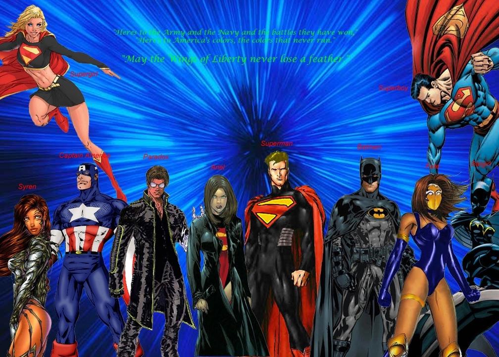 Dc Comics Fans : Support our troops dc comics fan art fanpop