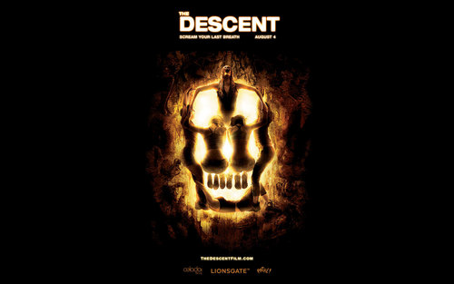 The Descent kertas dinding