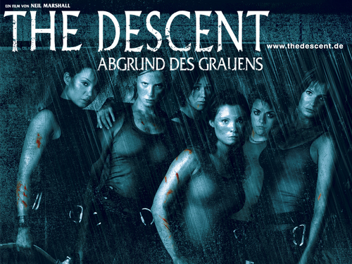 Horror فلمیں پیپر وال with عملی حکمت titled The Descent پیپر وال