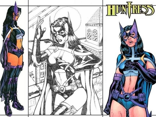 DC Comics wallpaper with anime called The Huntress