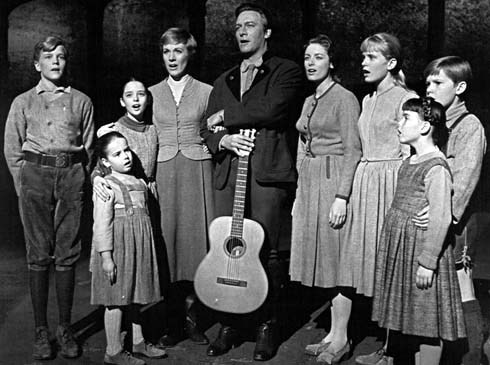 The family Von Trapp singers