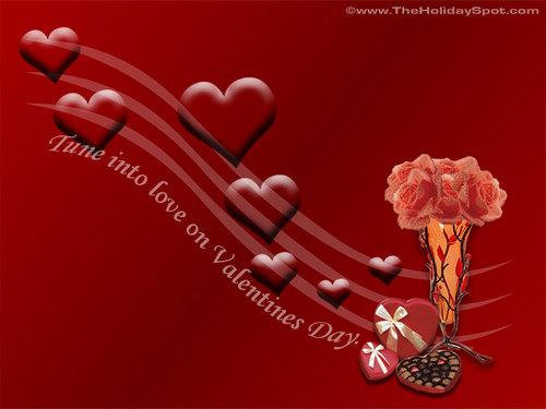 Valentine's Day wallpaper titled Valentine's Day