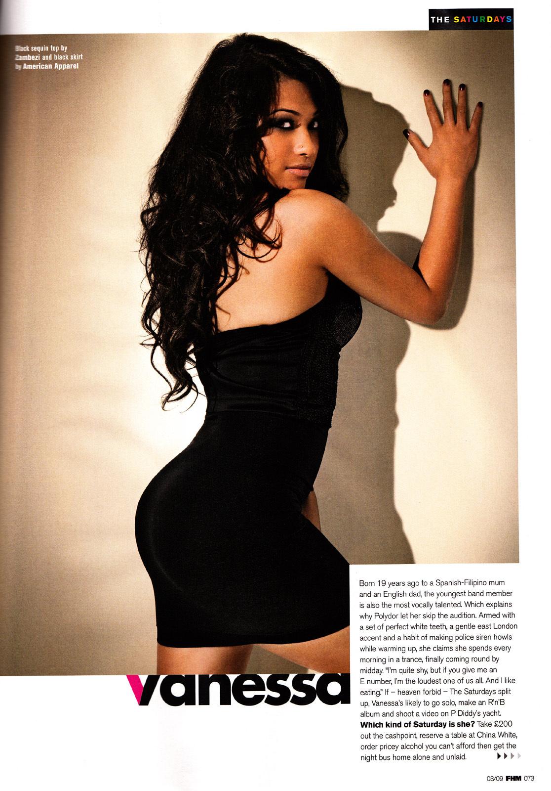 Hot Vanessa White