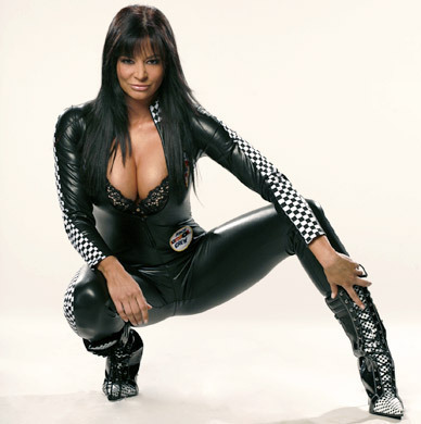 Candice Michelle wallpaper with a hip boot entitled Vroom Vroom - Candice Michelle