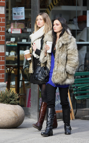 Whitney and Allie Out in NY
