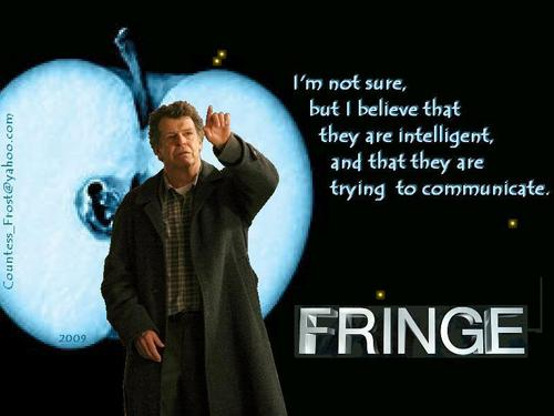 communicating - fringe Wallpaper