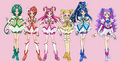 cure team - pretty-cure photo