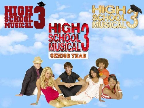 High School Musical 3 দেওয়ালপত্র with a sign entitled hsm3