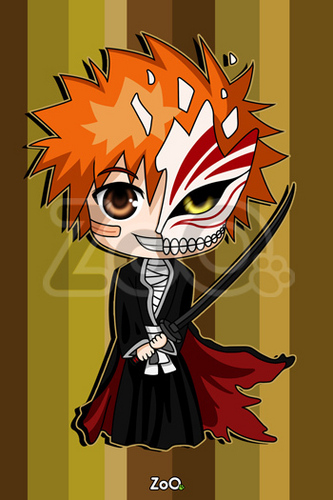 Chibi wallpaper with anime called ichigo chibi