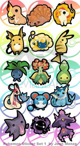 pokemon Chibi 2