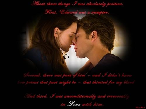 *Edward and Bella*