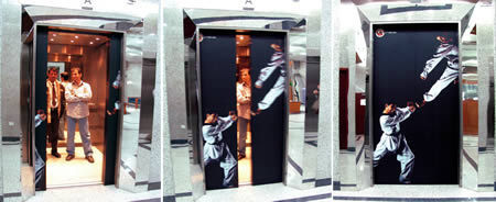 10 Clever Elevator Ads