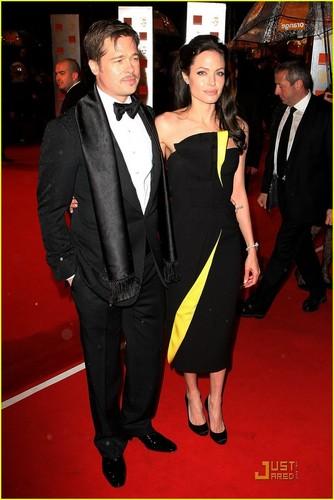 Angelina @ 2009 BAFTA Awards