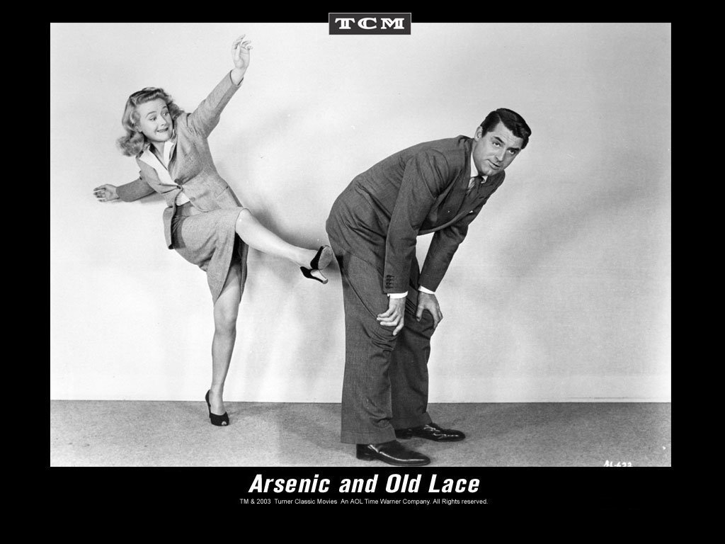 an analysis of arsenic and old lace a movie In the play, the two sisters ran a boarding house and knocked off a series of elderly men using elderberry wine laced with arsenic arsenic and old lace has long been a staple of community theaters throughout the world and has been made into more than one movie, the most famous being the frank.
