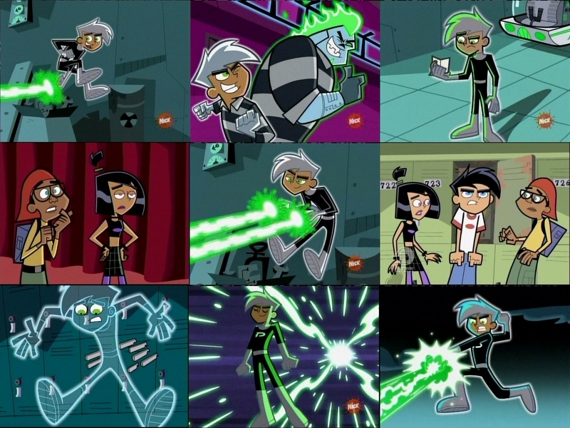 Danny Phantom Wallpaper Possibly With A Stained Glass Window And Anime Called Baner