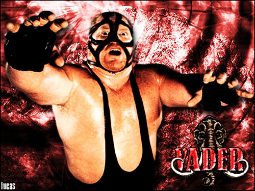 Professional Wrestling Hintergrund possibly containing Anime called Big transporter, van Vader