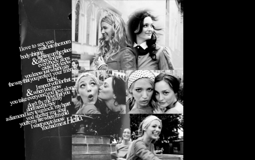 Gossip Girl wallpaper titled Blair & Serena