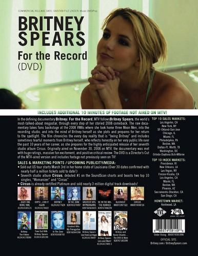 Britney Dvd