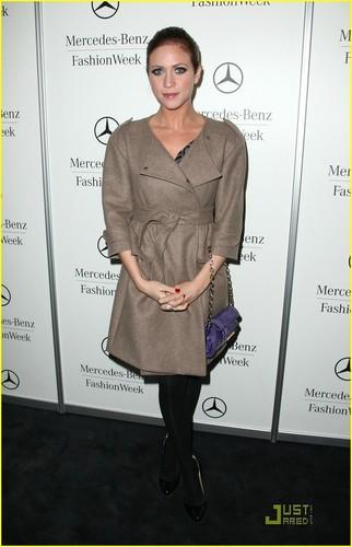 Brittany @ Mercedes-Benz Fashion Week