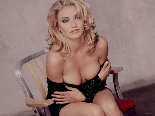 Cameron Diaz wallpaper probably containing a bustier, attractiveness, and tights titled Cameron Diaz