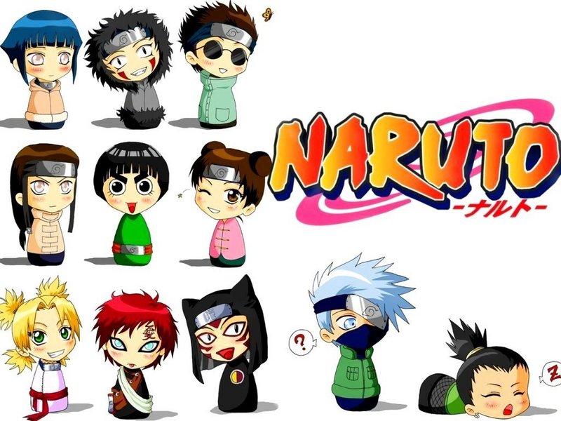 Chibi - Naruto Wallpaper