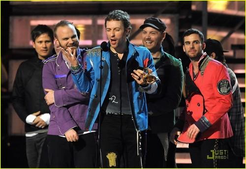 콜드플레이 at Thr Grammys 2009