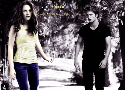 Color my life - edward and bella -