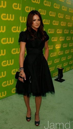 Danneel at The CW Launch Party