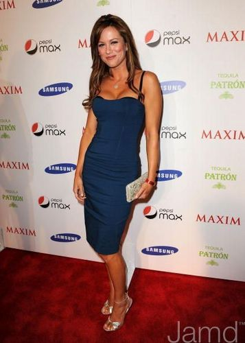 Danneel at the Maxim Magazine Super Bowl XLIII party