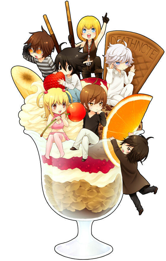Death note chibis