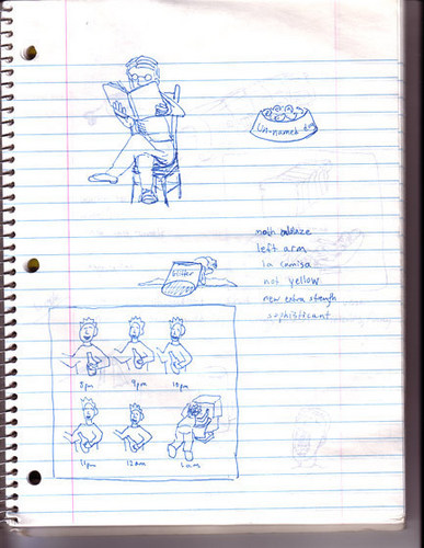 Demetri Journal Pages