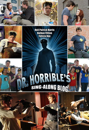 Dr. Horrible's Sing-A-Long Blog wallpaper probably with anime entitled Dr. Horrible's Sing-Along Blog