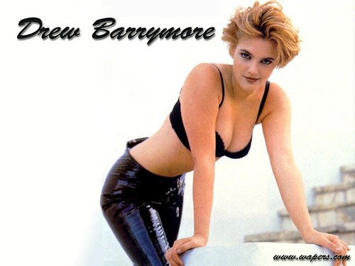 Drew Barrymore پیپر وال possibly with a leotard and tights entitled Drew Barrymore