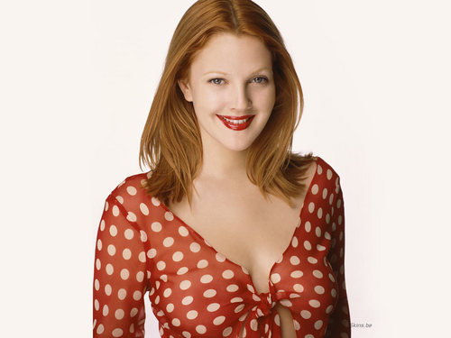 Drew Barrymore پیپر وال possibly with a playsuit, پلایساٹ and a portrait entitled Drew Barrymore