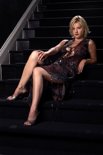Elisha Cuthbert wallpaper probably with bare legs and tights called Elisha Cuthbert