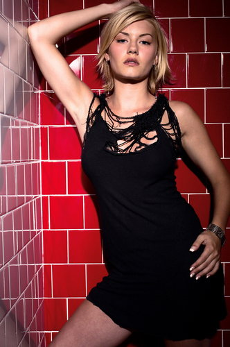 Elisha Cuthbert wallpaper probably with a shower, a leotard, and a bathroom called Elisha Cuthbert