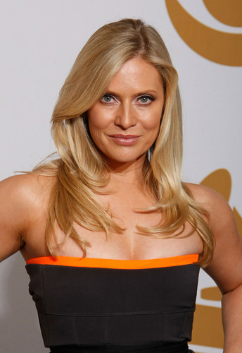 Emily Procter @ 51th Grammy awards  - csi-miami Photo