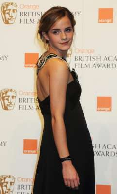 Emma Watson at the BAFTA's 2009
